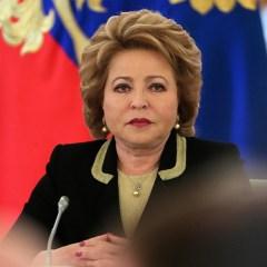 Матвиенко призвала не раскручивать виток противостояния в визовом вопросе с США