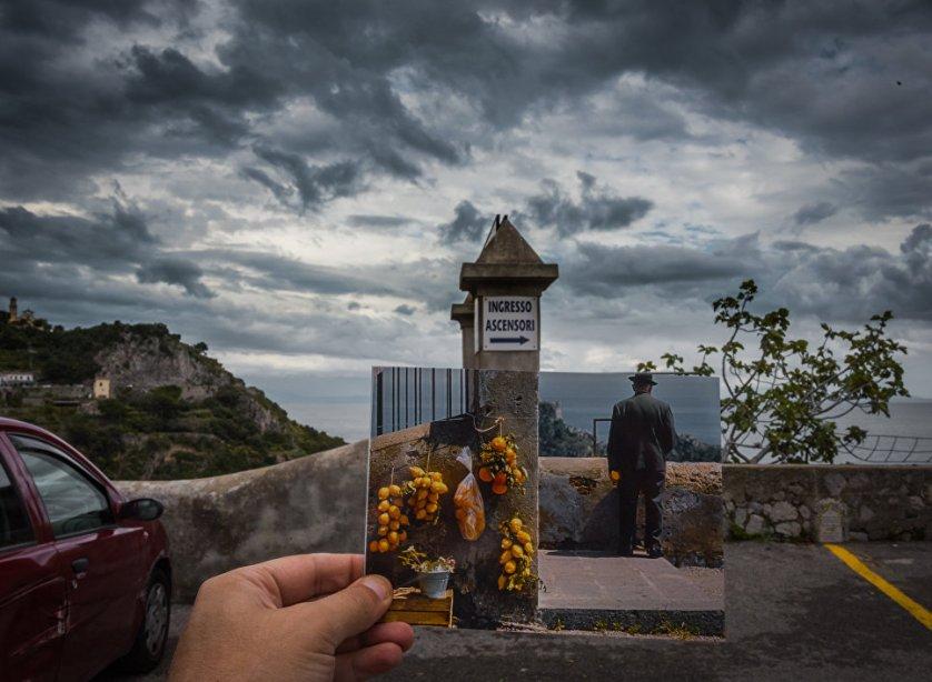 Миронов в Баку, Dior в ГУМе: фотограф воспроизводит исторические снимки