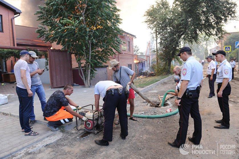 За день ранг сложности пожара был повышен с третьего до четвертого из пяти существующих.