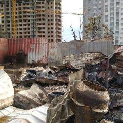 Губернатор пообещал погорельцам возможность восстановить свои дома в Ростове-на-Дону