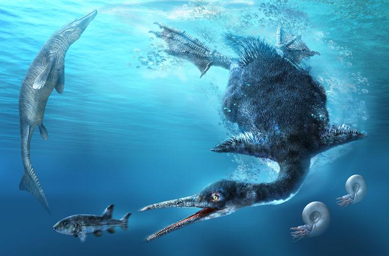 Самого древнего «пингвина»-хищника случайно нашли братья в Японии