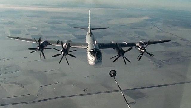 Бомбардировщики Ту-95МС нанесли удары по объектам террористов в Сирии