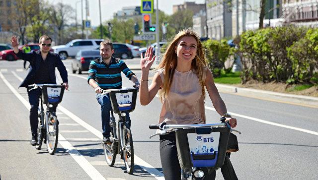Акция «На работу на велосипеде» пройдет в Москве 22 сентября