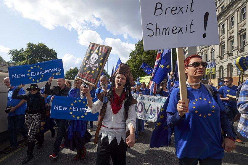 Британский парламент во втором чтении принял билль, отменяющий законы Евросоюза