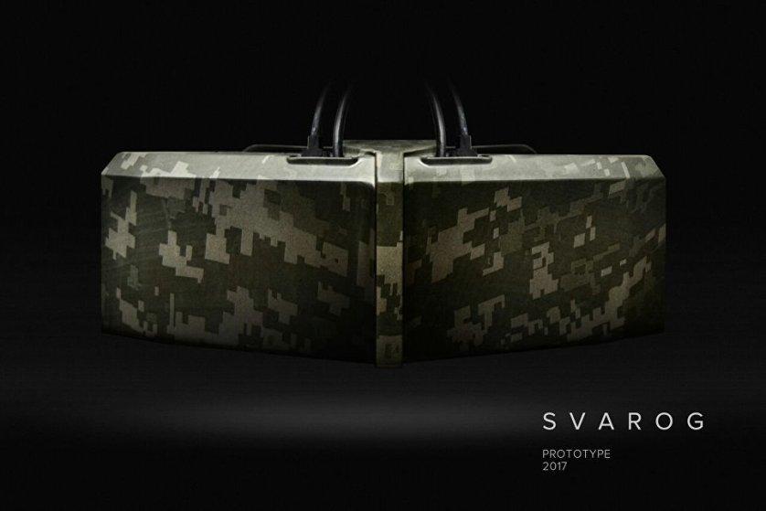 Прототип шлема виртуальной реальности Svarog