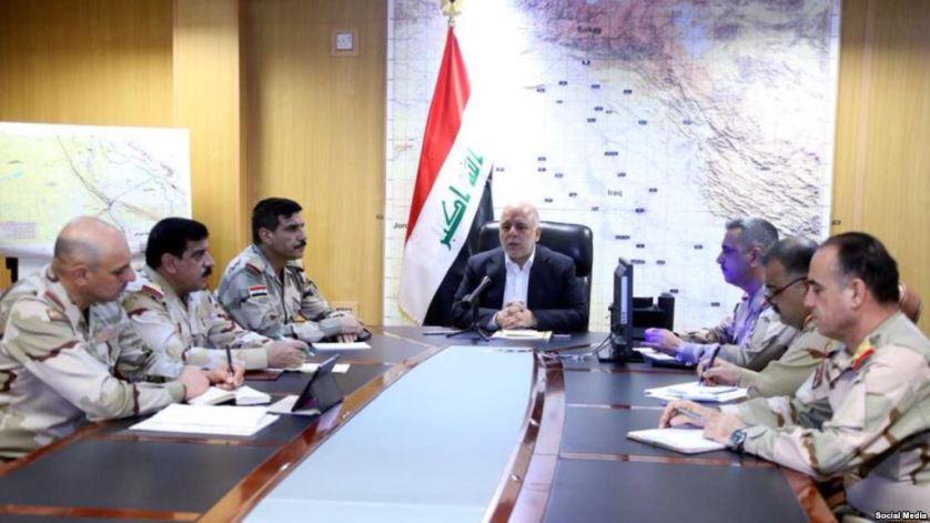 العبادي: لسنا مستعدين للتعامل مع نتائج الاستفتاء في كردستان