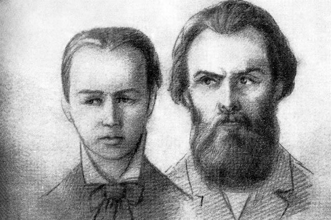 Софья Перовская и Андрей Желябов