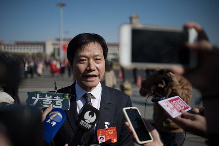 Основатель компании Xiaomi Лэй Цзюнь