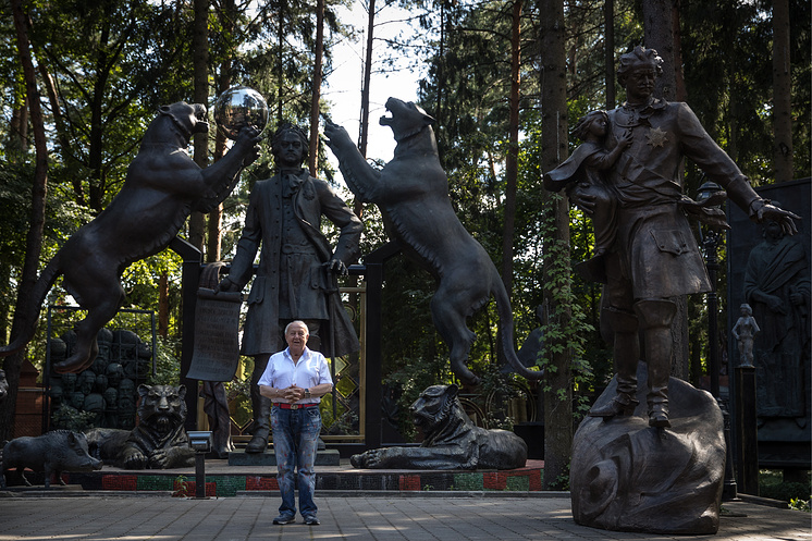 Sculptor Zurab Tsereteli interviewed to mark 260th anniversary of Russian Academy of Arts