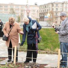 Активисты ОНФ провели экоакцию в «Зарядье» под девизом «Сохраним краснокнижных вместе!»