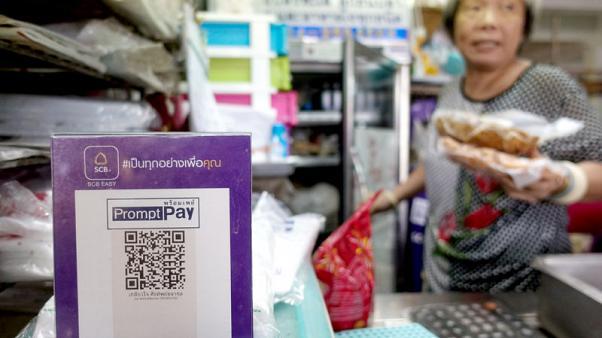 شراء الطعام بالتكنولوجيا الرقمية.. في شوارع تايلاند