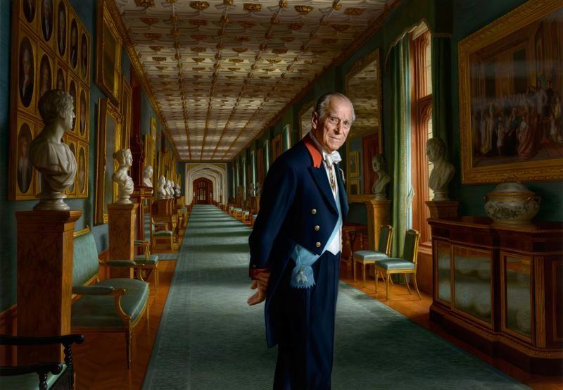 قصر بكنجهام ينشر لوحة جديدة للأمير فيليب
