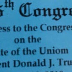 Приглашения на выступление Трампа перед Конгрессом США напечатали с ошибкой