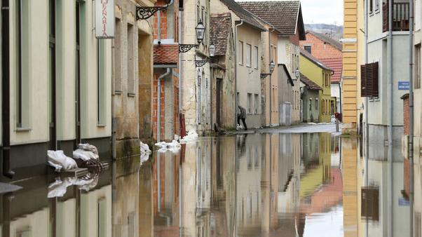 ذوبان الثلوج والأمطار الغزيرة تتسبب في فيضانات في كرواتيا