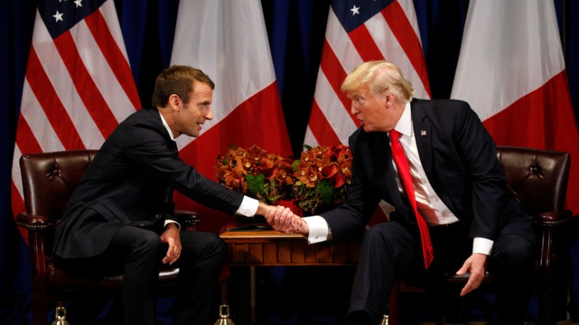 Macron claims he convinced Trump to stay in Syria 'for the long term'