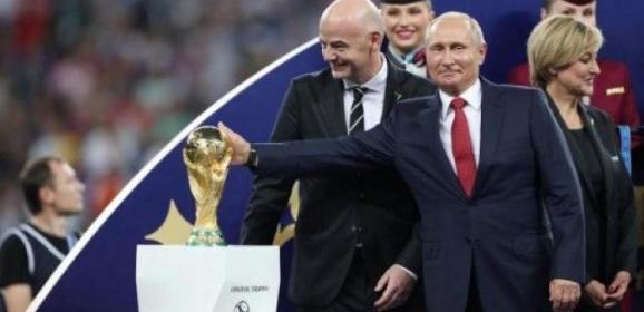 روسيا تقول إنها منعت 25 مليون هجوم إلكتروني وجرائم أخرى خلال كأس العالم