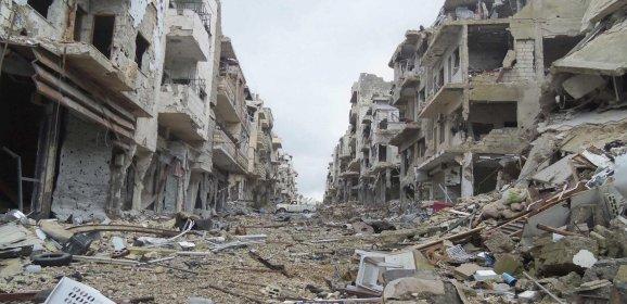 """تَدْمِيرُ سوريا مُستَمِرٌّ. بِرِعايةِ """"بلاك و وتر""""!!"""