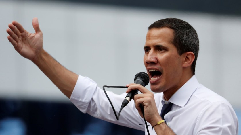 'Everyone to Caracas!' Guaido calls for mass street action amid reports of US money boost
