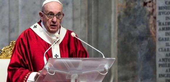 """البابا """"متألم للغاية"""" لقرار تحويل متحف آيا صوفيا في اسطنبول إلى مسجد"""