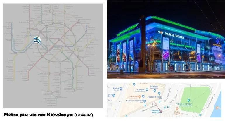Shopping in Russia: Evropeyskiy
