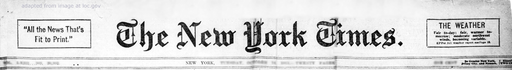 Image result for new york times masthead