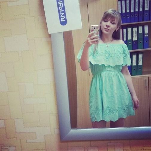 Nastya russian bridesmaid