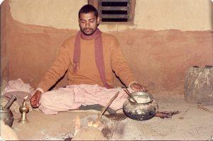 Babaji as brahmacari in ISKCON