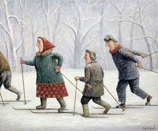 Russian winter, stereotypes