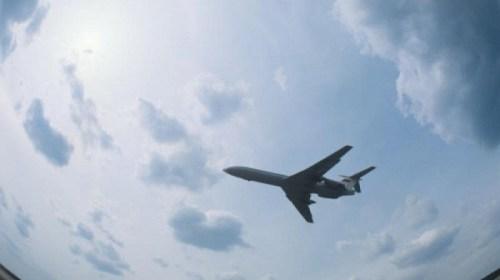 """Видео со странной """"вспышкой"""" в небе во время крушения Ту-154"""