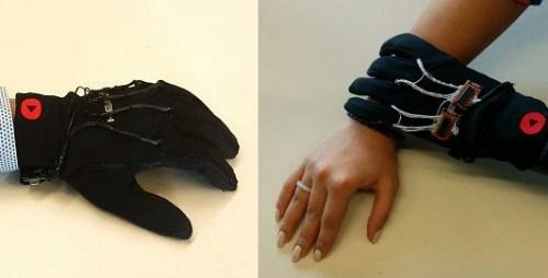 Специалисты из Канады создали перчатки для объятий на расстоянии