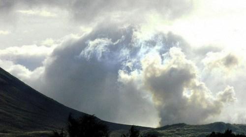 Авиакомпании предупредили о начале извержения вулкана Богослов на Алеутских островах