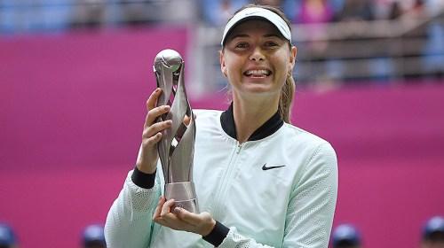 В Москву с победой: Шарапова выиграла первый турнир после длительной дисквалификации