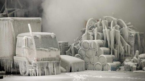 Экстремальный холод установился в Канаде