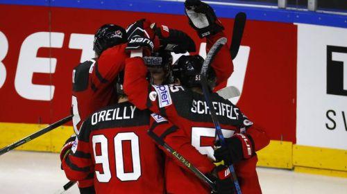 Сборная Канады обыграла Латвию за счет игроков из КХЛ