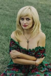 communicative Ukrainian woman from city Kiev Ukraine