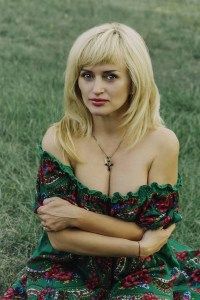 communicative Ukrainian woman from city Kiev Ukraine
