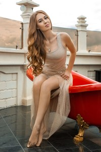 delicate Ukrainian lady from city Kiev Ukraine