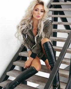 exciting Russian lady from city St Petersburg Russia