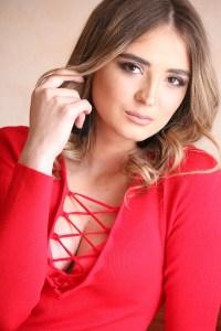 sunny Ukrainian woman from city Odessa Ukraine