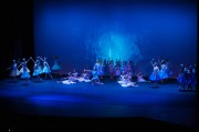 """Dream scene at the second act with Angie Suo as """"Cupid"""" in the center"""