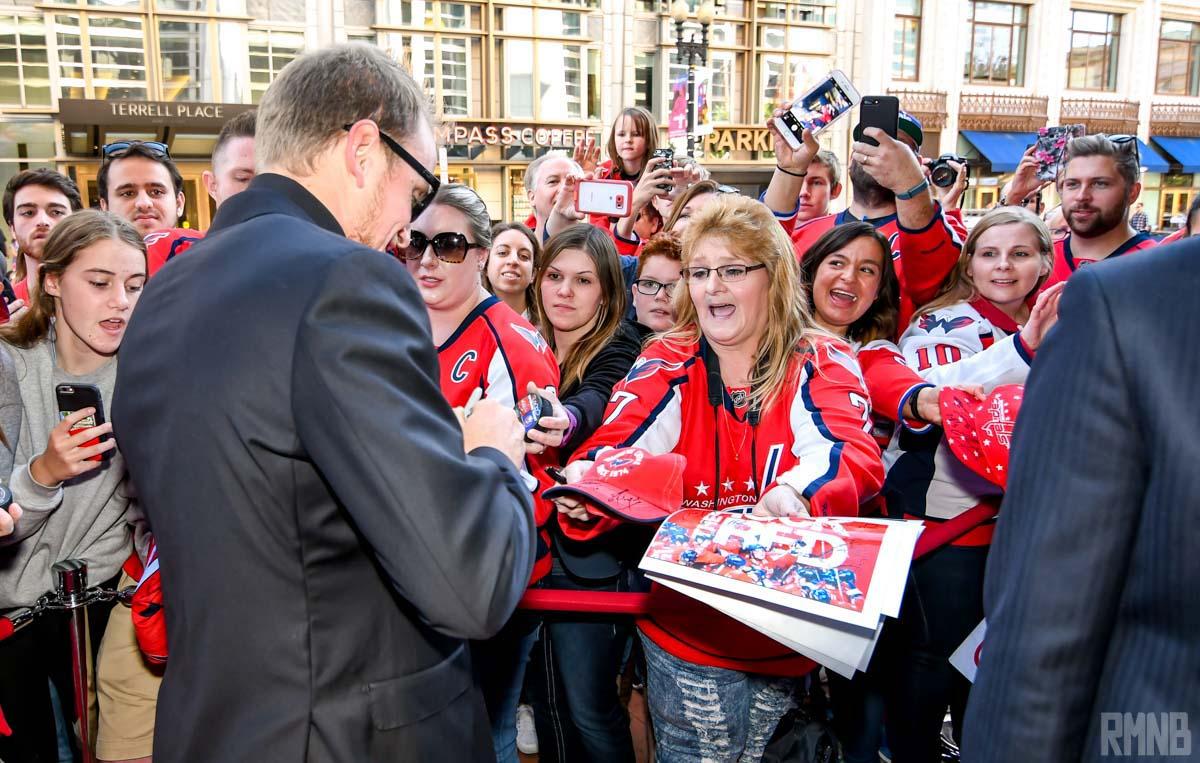 Schmidt continues to sign autographs