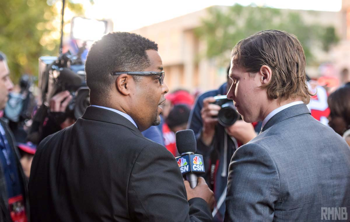 Tarik El-Bashir interviews Nicklas Backstrom