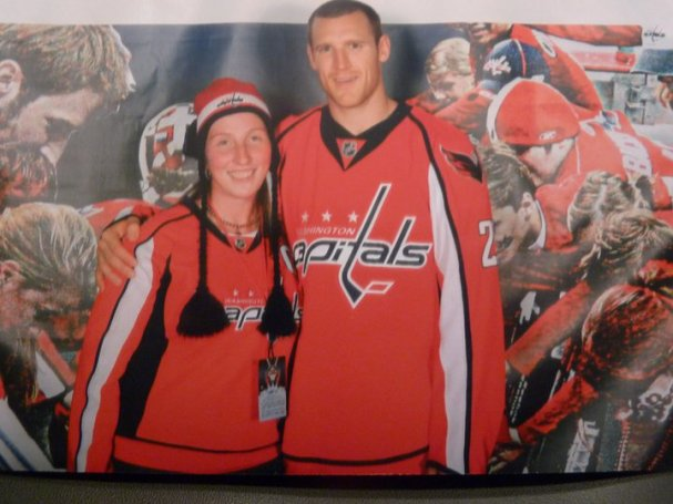 Brooks Laich with Stacey