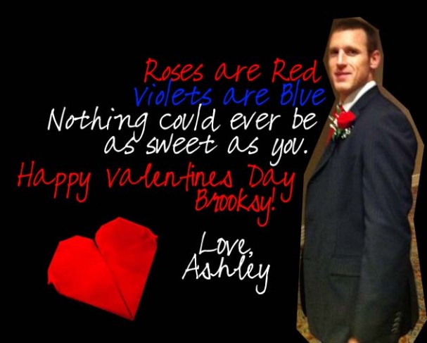 Brooks Laich Valentine