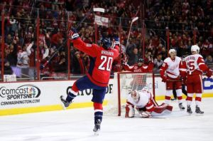 Brouwer celebrates his first goal (Photo: Paul Frederiksen)