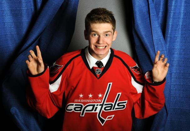 Capitals 2010 First Round Draft Pick Evgeny Kuznetsov