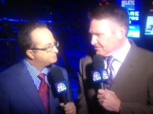Joe B suit of the night