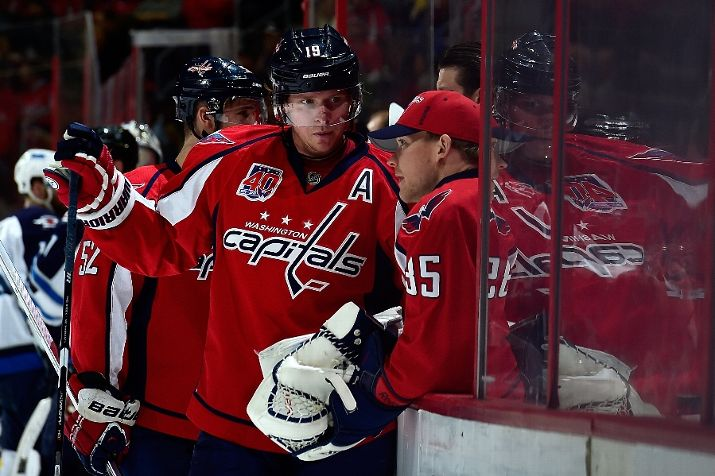 ebdb87efecb Nicklas Backstrom Rejoins Teammates at Practice for First Time Since Hip  Surgery