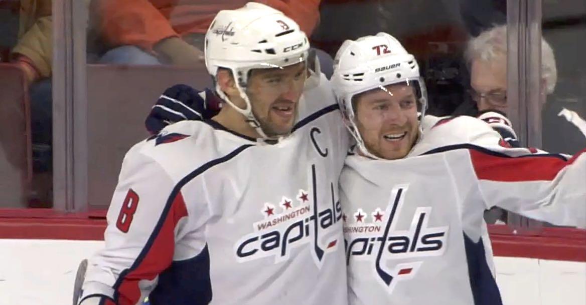 1aabb577d85 Alex Ovechkin ties Jari Kurri in career goals on Travis Boyd s first NHL  point