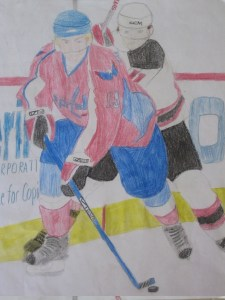 Beautiful Nicklas Backstrom Color Pencil Drawing By Kaitlyn